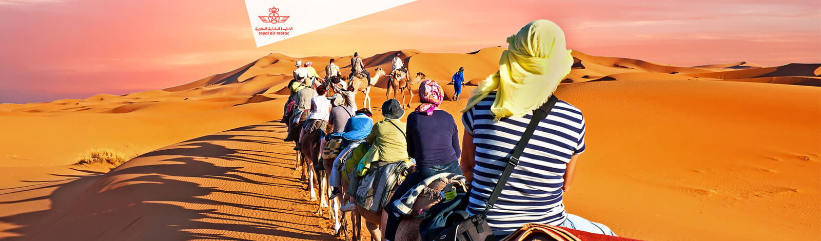 Royal Air Maroc - woestijn